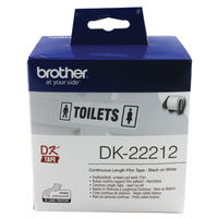 Brother P-Touch White Continuous Film Tape DK-22212
