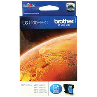 Brother LC1100HYC Cyan Ink Cartridge - High Capacity LC1100HYC