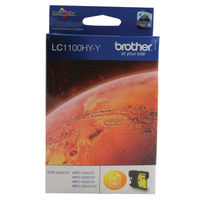 View more details about Brother LC1100 High Yield Yellow Inkjet Cartridge LC1100HYY