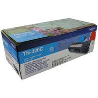 Brother TN-320C Cyan Laser Toner Cartridge - TN320C
