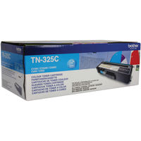 Brother TN-325C Cyan Toner Cartridge - High Capacity TN325C