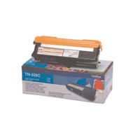 Brother TN-328C Cyan Laser Toner Cartridge - Extra High Capacity TN328C