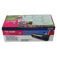 Brother TN-328M Magenta Laser Toner Cartridge - Extra High Capacity TN328M