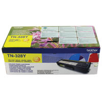 View more details about Brother Yellow Super High Yield Laser Toner TN328Y