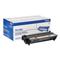 Brother TN-3380 Black Laser Toner Cartridge - High Capacity TN3380