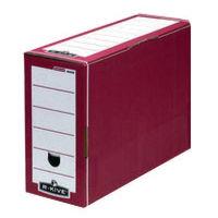 Fellowes Red Bankers Box Premium Transfer File - Pack of 10 - 00060-FF