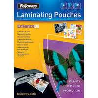 Fellowes A4 Laminating Pouches Enhance, Pack of 25 - BB53962