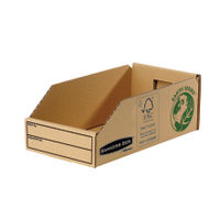 Fellowes Earth Series Parts Bin, W147xD280xH102mm - Pack of 50 - BB88045