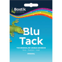 Bostik Blu Tack Handy Pack 60g, Pack of 12 - 801103