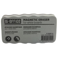 View more details about Bi-Office White Lightweight Magnetic Eraser AA0105 BQ53105