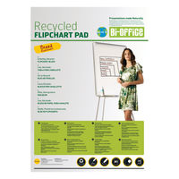 Bi-Office Earth-It A1 Flipchart Pads, Pack of 5 - BQ55181