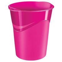 CepPro Gloss Pink Waste Bin, 14L - 280G PINK