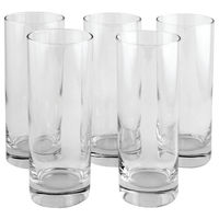 View more details about Clear Tall Tumbler Drinking Glass 36.5cl (Pack of 6) 0301023