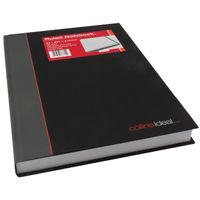 Collins Ideal Casebound A4 Feint Ruled Notebook - 6448