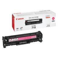 Canon 718 Magenta Laser Toner Cartridge - 2660B002