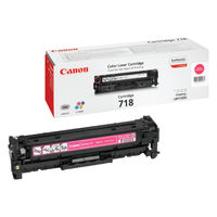 View more details about Canon 718M Magenta Toner Cartridge 2660B002