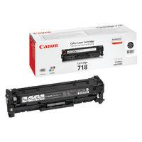 View more details about Canon 718BK Black Toner Cartridge 2662B002