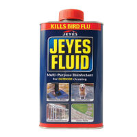 View more details about Jeyes Fluid Outdoor Disinfectant 1 Litre (Use on drains, patios and conservatories) 1004028