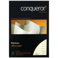 Conqueror A4 Cream CX22 Watermark Paper, 100gsm, 500 Sheets - CQX0324CRNW