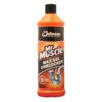 View more details about Mr Muscle Max Gel Unblocker 1 Litre 685732
