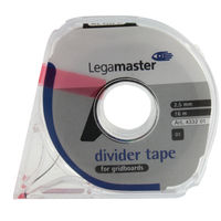 View more details about Legamaster Self-Adhesive Tape For Planning Boards 16m Black 4332-01
