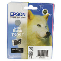 View more details about Epson T0967 Light Black Inkjet Cartridge C13T09674010 / T0967