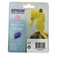 Epson T0486 Light Magenta Ink Cartridge - C13T04864010