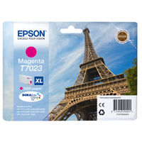 Epson T7023 Magenta Ink Cartridge - High Capacity C13T70234010