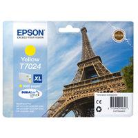 Epson T7024 Yellow Ink Cartridge - High Capacity C13T70244010