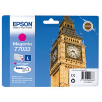 Epson T7033 Magenta Ink Cartridge - C13T70334010