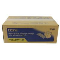 Epson C2800 Yellow Toner Cartridge - High Capacity C13S051158
