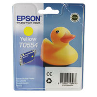 Epson T0554 Yellow Ink Cartridge- C13T05544010