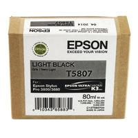 Epson T5807 Light Black Ink Cartridge - C13T580700