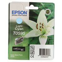 Epson T0595 Light Cyan Ink Cartridge- C13T05954010
