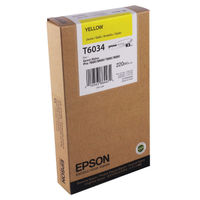 Epson T6034 Yellow Ink Cartridge - C13T603400