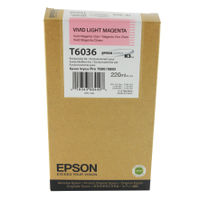 Epson T6036 Vivid Light Magenta Ink Cartridge - High Capacity C13T603600