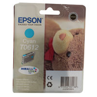 Epson T0612 Cyan Ink Cartridge - C13T06124010