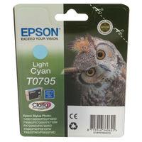 Epson T0795 Light Cyan Ink Cartridge - C13T07954010