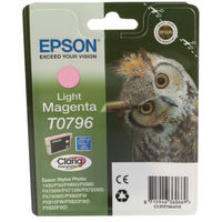 Epson T0796 Light Magenta Ink Cartridge - C13T07964010
