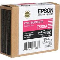 Epson T580A Vivid Magenta Ink Cartridge - C13T580A00