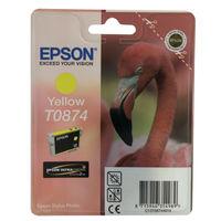 Epson T0874 Yellow Ink Cartridge - C13T08744010
