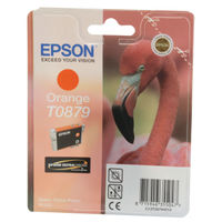 Epson T0879 Orange Ink Cartridge - C13T08794010