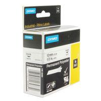 Dymo White Rhino Permanent Polyester Tape 12mmx5.5m - 18483