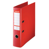 Esselte No.1 Power A4 Red Lever Arch Files 75mm - Pack of 10 - 48063