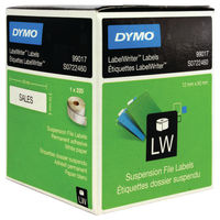 Dymo LabelWriter Suspension File Labels, Pack of 220 - S0722460