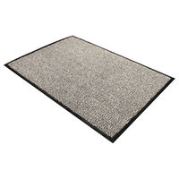 Floortex Black and White Doortex Dust Control Door Mat - 49150DCBWV