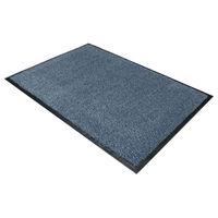 View more details about Floortex Blue Doortex Dust Control Door Mat - 49150DCBLV
