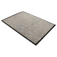 Floortex Black and White Doortex Dust Control Door Mat - FL74735