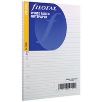 Filofax Personal Ruled Paper Refills - Pack of 30 - 133008