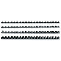 GBC A4 Black 19mm CombBind Binding Combs - Pack of 100 - 4028601U